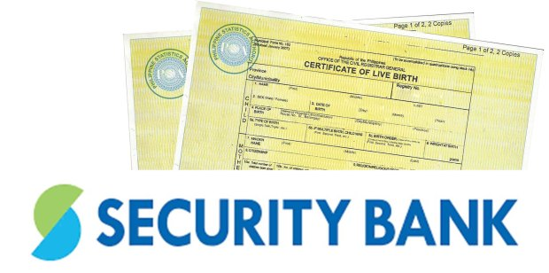 PSAHelpline Payment option- Security bank