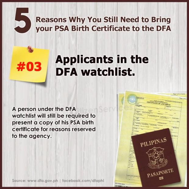 5 reasons DFA_PSA_3